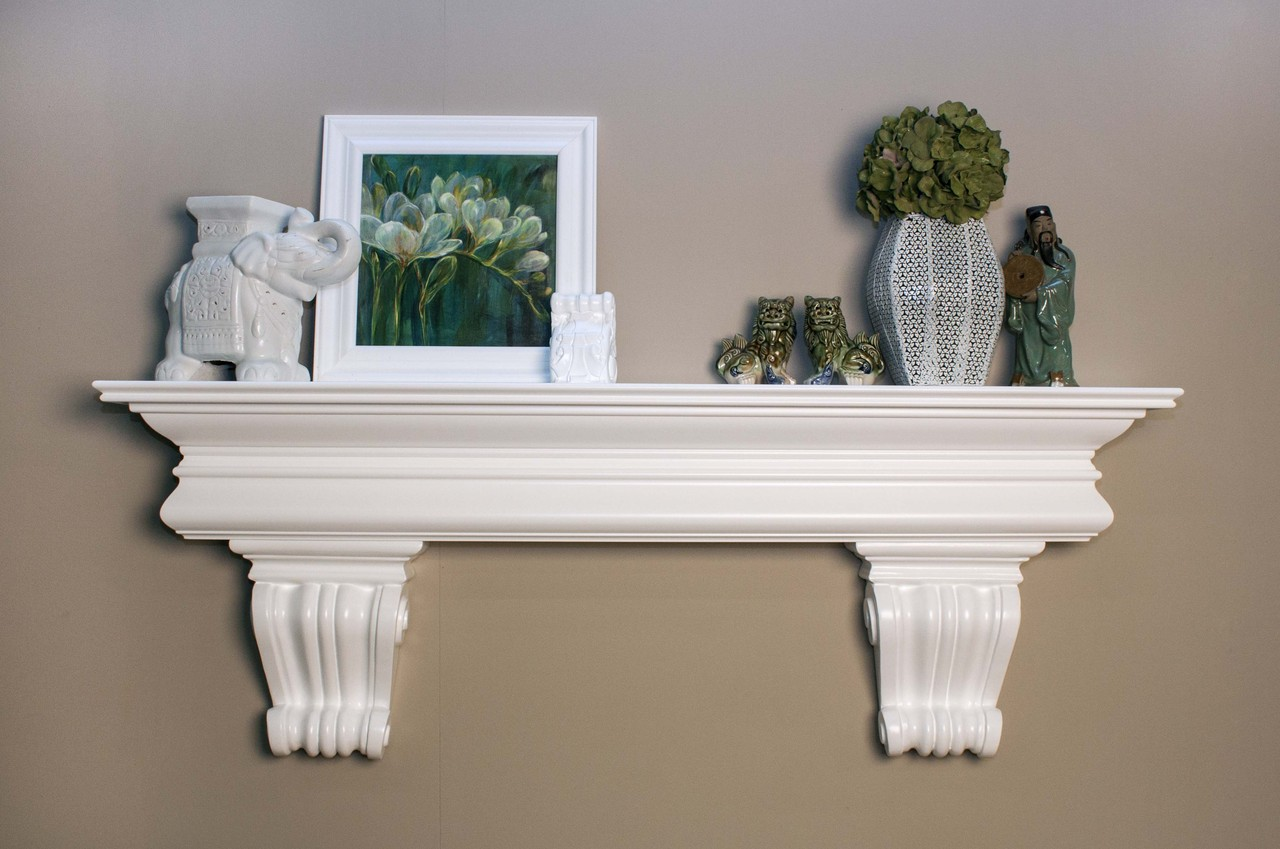 Clanton Shelf with Beautiful Corbels